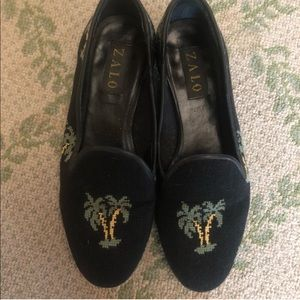 Zalo Embroidered Loafers